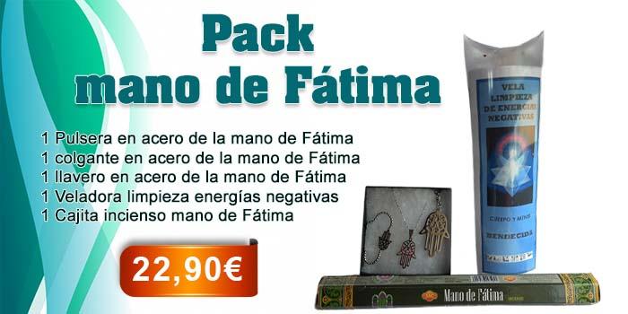 Pack Mano de Fátima