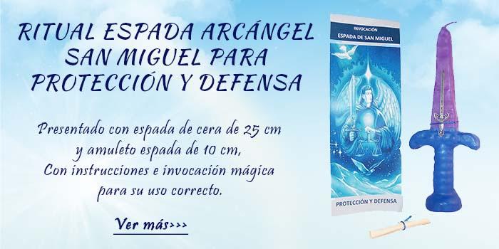 Ritual Espada Arcángel San Miguel, Protección y Defensa