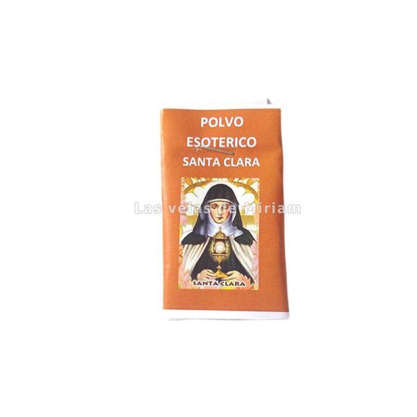Polvo Esotérico Santa Clara