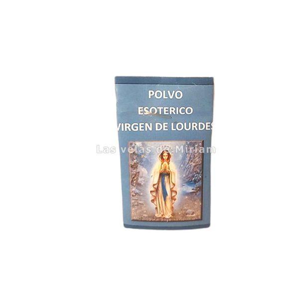 Polvo Esotérico Virgen de Lourdes