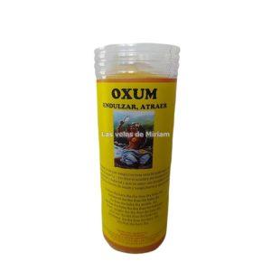Velón de oración con aceite Oxum