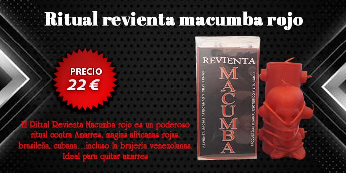 Ritual revienta macumba rojo