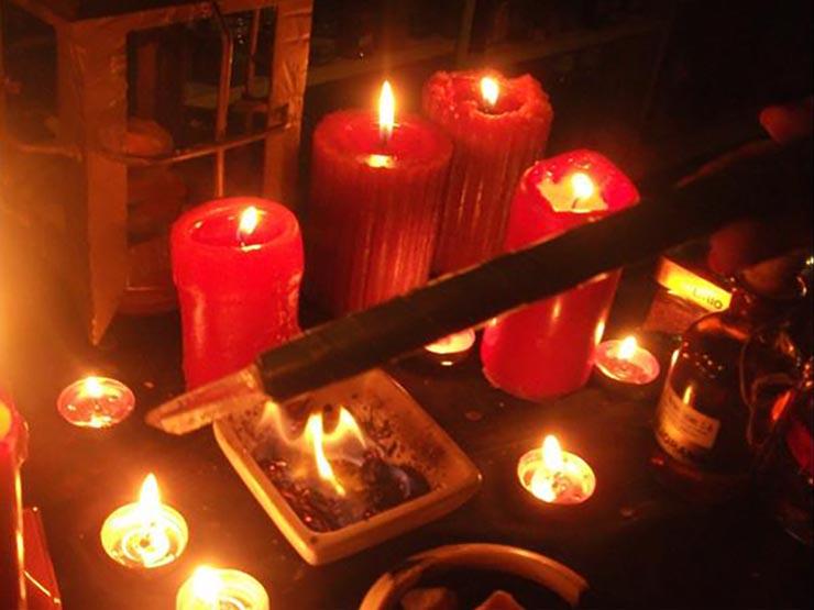 Velas y velones para rituales de amor